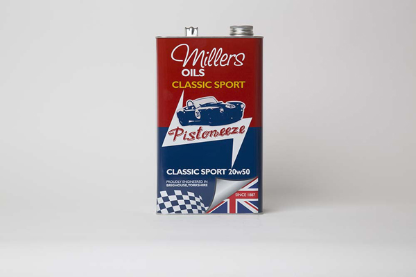 Millers oils pistoneeze classic sport 20w50 5l for Classic house nl
